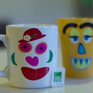 Etiquetasenriqueta caraslocas tazas