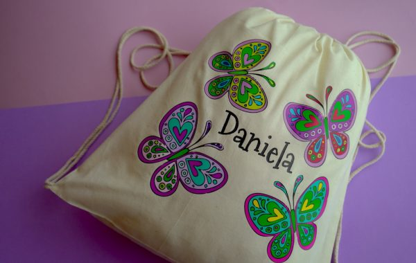 Mochila mariposas